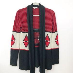 BB Dakota ELijah Cardigan Sweater Small Southwest